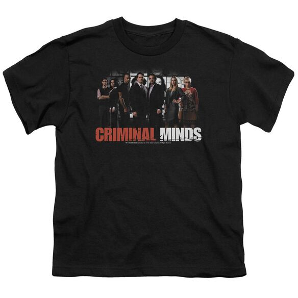 Criminal Minds The Brain Trust Short Sleeve Youth T-Shirt