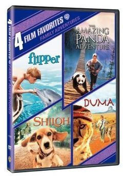 Image of 4 Film Favorites: Family Adventures
