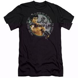 BRUCE LEE EXPECTATIONS - S/S ADULT 30/1 - BLACK T-Shirt