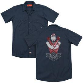 Wonder Woman Movie Amazon (Back Print) Adult Work Shirt