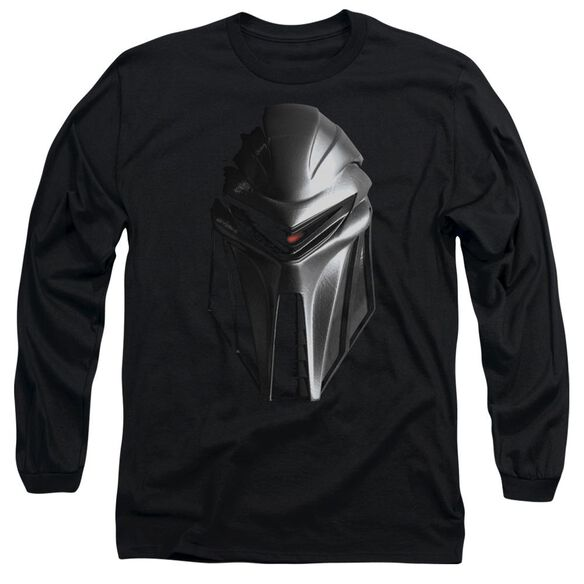 BSG CYLON HEAD - L/S ADULT 18/1 - BLACK T-Shirt