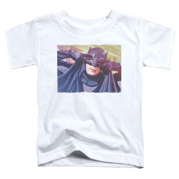 Batman Classic Tv Smooth Groove Short Sleeve Toddler Tee White T-Shirt