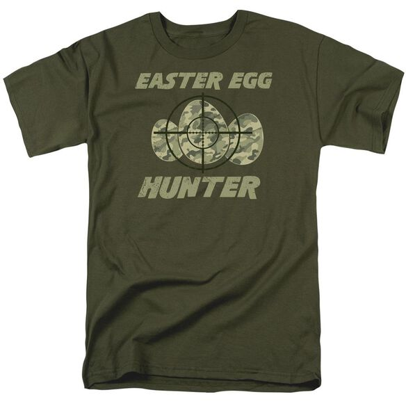 The Hunt Short Sleeve Adult Military Green T-Shirt
