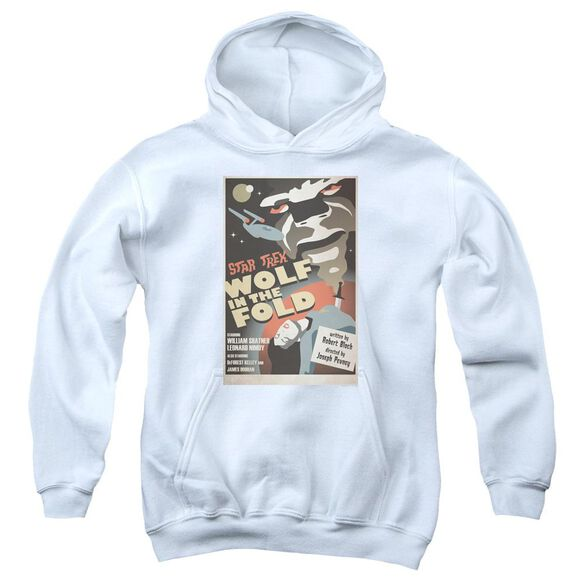 Star Trek Tos Episode 43 Youth Pull Over Hoodie