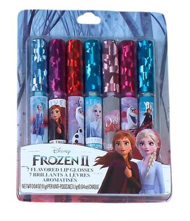 Frozen 2 - Flavored Lip Gloss Assortment [7 pack]
