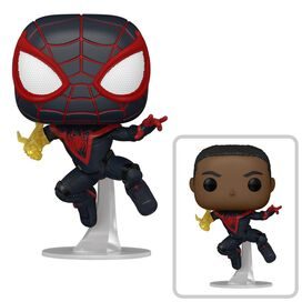 Funko Pop! Games: Marvel's Spider-Man Miles Morales (Classic Suit) w/chase