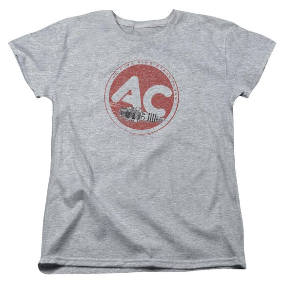 Ac Delco Ac Circle Short Sleeve Womens Tee Athletic T-Shirt