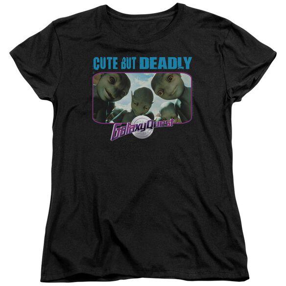 Galaxy Quest Cute But Deadly Short Sleeve Womens Tee T-Shirt