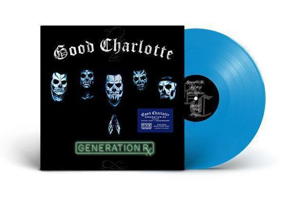 Good Charlotte - Generation Rx [Exclusive Transparent Blue Vinyl]