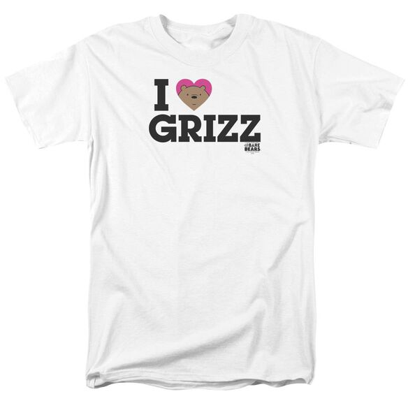 We Bare Bears Heart Grizz Short Sleeve Adult T-Shirt