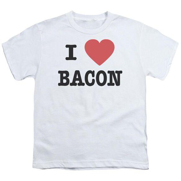 I Heart Bacon Short Sleeve Youth T-Shirt