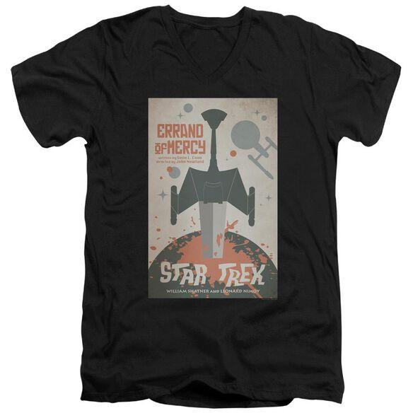 Star Trek Tos Episode 26 Short Sleeve Adult V Neck T-Shirt