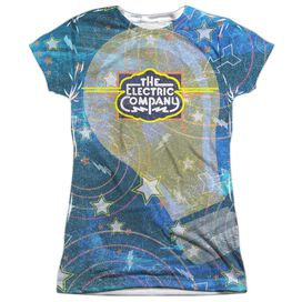 Electric Company Electrifying Short Sleeve Junior Poly Crew T-Shirt