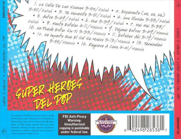 Super Heroes Del Pop 0305