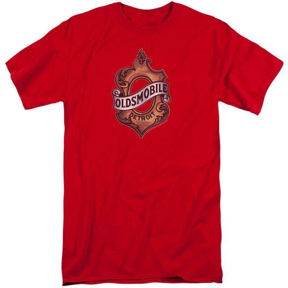 Oldsmobile Detroit Emblem Short Sleeve Adult Tall T-Shirt