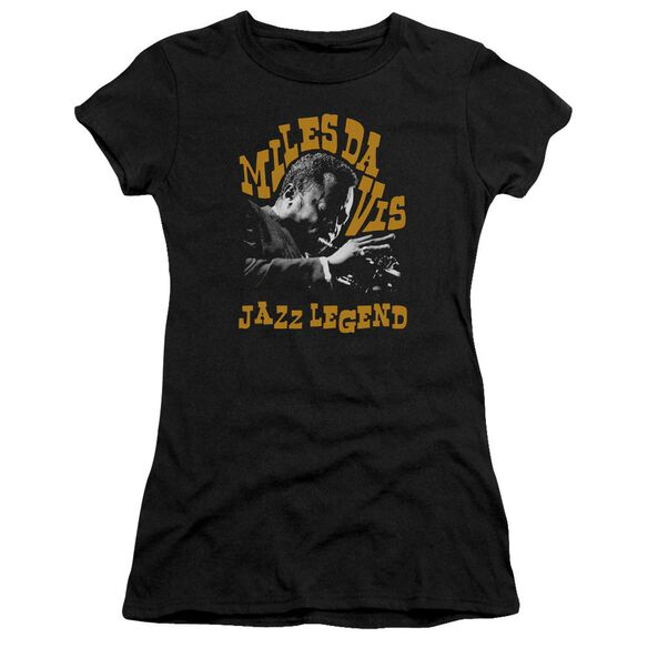 Miles Davis Jazz Legend Premium Bella Junior Sheer Jersey