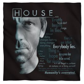 House Houseisms Bandana White