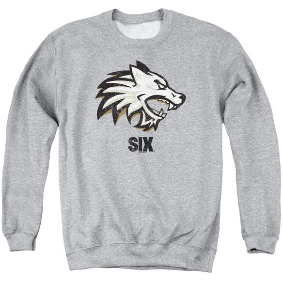 Six Wolf Adult Crewneck Sweatshirt Athletic