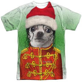 Pets Rock Christmas Pop Short Sleeve Adult Poly Crew T-Shirt