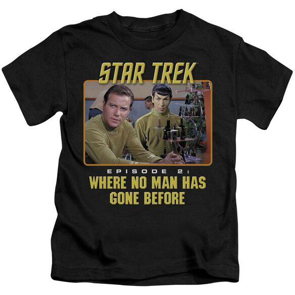 Star Trek Episode 2 Short Sleeve Juvenile Black T-Shirt