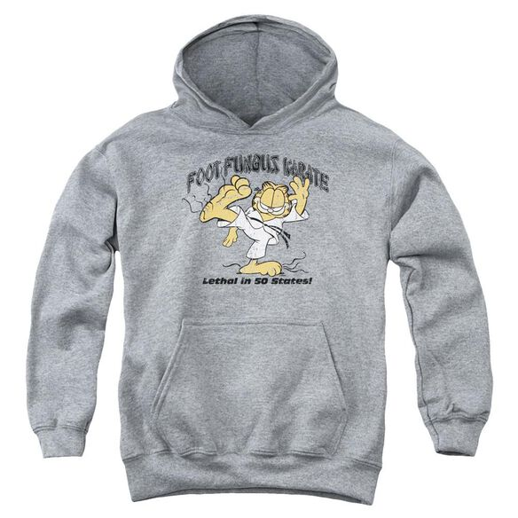 Garfield Foot Fungus Karate Youth Pull Over Hoodie
