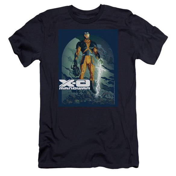 Xo Manowar Planet Death Premuim Canvas Adult Slim Fit