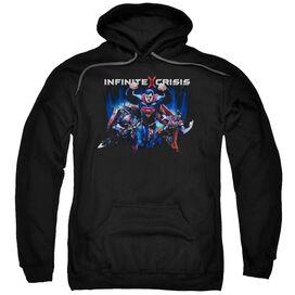 Infinite Crisis Ic Super Adult Pull Over Hoodie