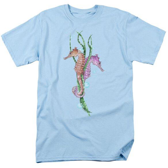 Wildlife Seahorse Dance Short Sleeve Adult Light T-Shirt