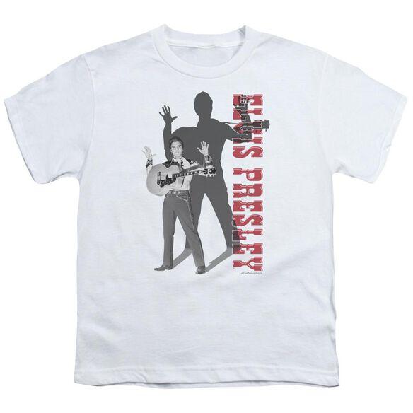 Elvis Look No Hands Short Sleeve Youth T-Shirt