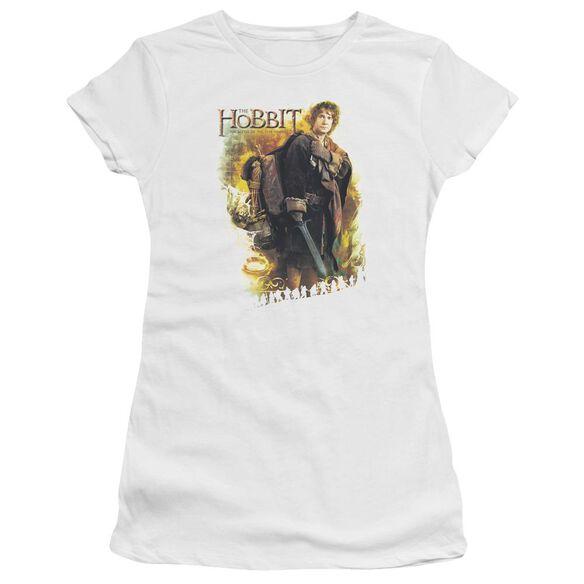 Hobbit Bilbo Short Sleeve Junior Sheer T-Shirt