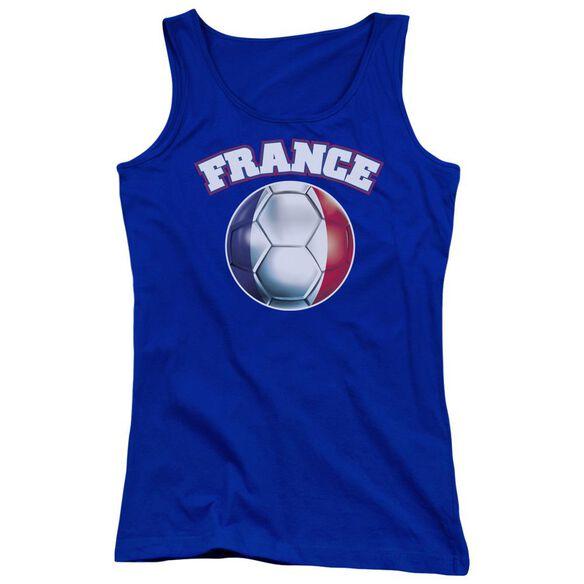 France Juniors Tank Top Royal