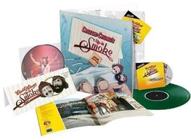 Cheech & Chong - Up In Smoke 40th Anniversary Deluxe Collector's Edition [Exclusive Green Vinyl with CD and Blu-ray]