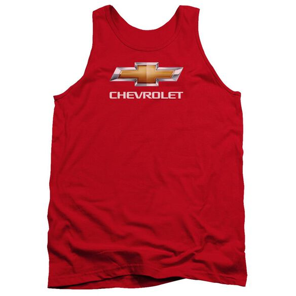 Chevrolet Chevy Bowtie Stacked Adult Tank