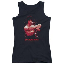 Bruce Lee The Shattering Fist Juniors Tank Top