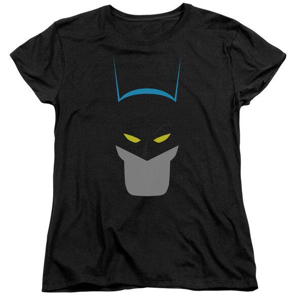 BATMAN SIMPLIFIED - S/S WOMENS TEE - BLACK T-Shirt