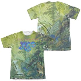 Yes Fly From Here (Front Back Print) Adult Poly Cotton Short Sleeve Tee T-Shirt