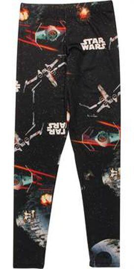 Star Wars Death Star Battle Open Leggings