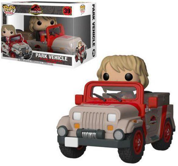 Funko Pop! Rides: Jurassic Park - Park Vehicle
