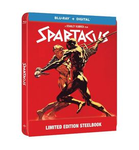 Spartacus (1960) [Limited Edition Blu-ray Steelbook]