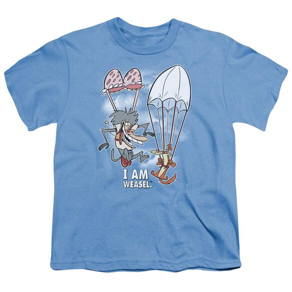 I Am Weasel Balloon Ride Short Sleeve Youth Carolina T-Shirt