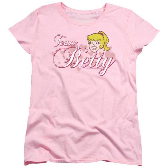 Archie Comics Team Betty Short Sleeve Womens Tee T-Shirt