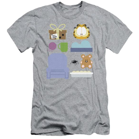 Garfield Gift Set Short Sleeve Adult Athletic T-Shirt