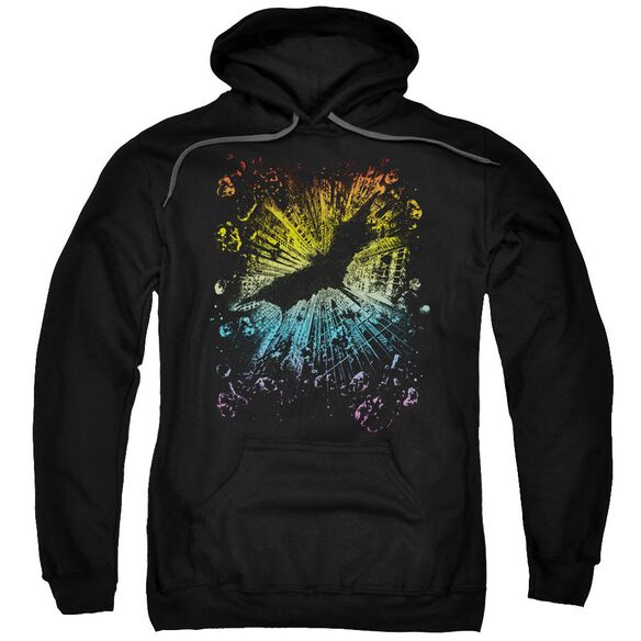 Dark Knight Rises Coming At You Adult Pull Over Hoodie