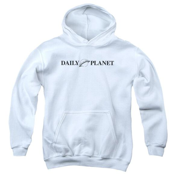Superman Daily Planet Logo Youth Pull Over Hoodie