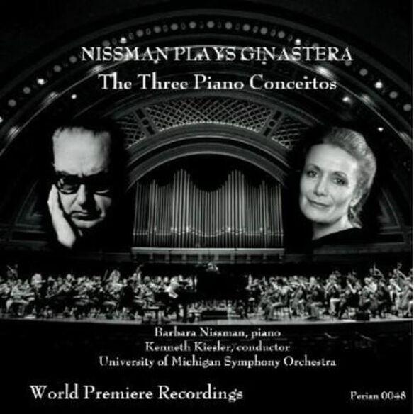 Alberto Ginastera - Three Piano Concertos