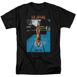 Def Leppard High N Dry Short Sleeve Adult T-Shirt