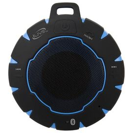iLive ISBW157BU Portable Bluetooth Speaker (Black/Blue)