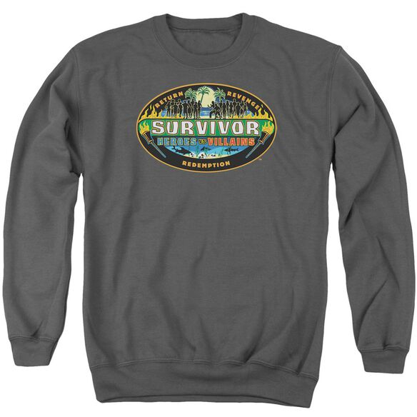 Survivor Heroes Vs Villains Adult Crewneck Sweatshirt