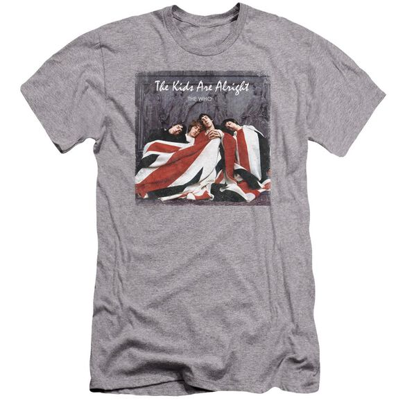 The Who Kids Cover Premuim Canvas Adult Slim Fit Athletic