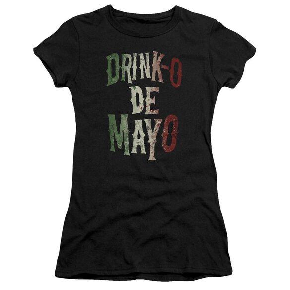 Drink O Short Sleeve Junior Sheer T-Shirt